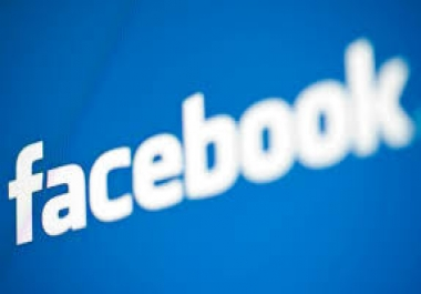 Give you 1000 Facebook Fan Page Likes Non Drop