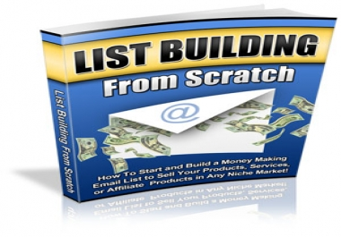 give you a report on LIST BUILDING which teaches you everything you need about it