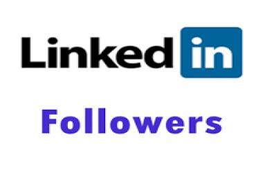 Add real active 1700+Linkedin Followers