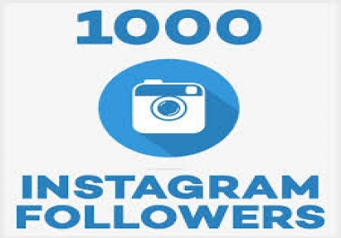 Add 1,000+ Instagram Followers - Real and Non Drop for