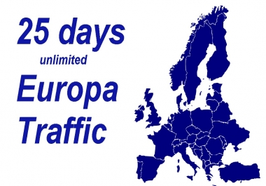 in 25 days   drive unlimited europa visitors  with EXTRAS