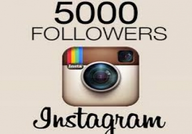 provide 5,000 Instagram followers for