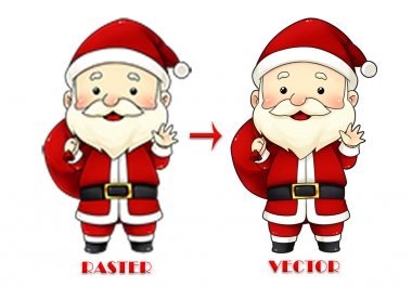 do vector tracing, image to vector, raster to vector convert in 24 hours