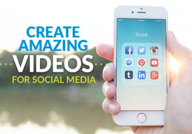 create powerful social media profile promo video that will help grow your followers
