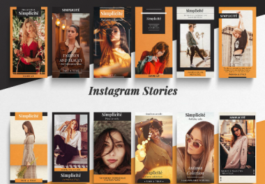 create captivating instagram, fb and snapchat story ads