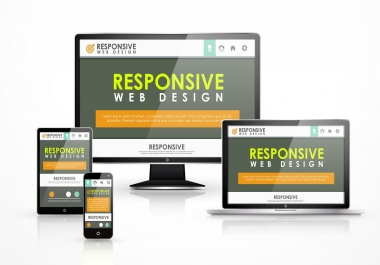 create responsive static website