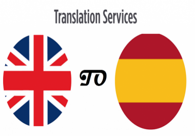translate text with a maximum of 1,500 words from English to Spanish or viceversa