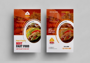 design  a unique, stylish and professional flyer design for your business