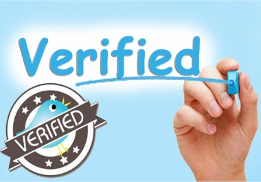 submit your request to Twitter verification team