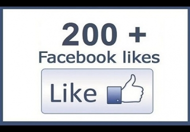 Give You 200+ Facebook Fanpage likes or Followers{Premium}