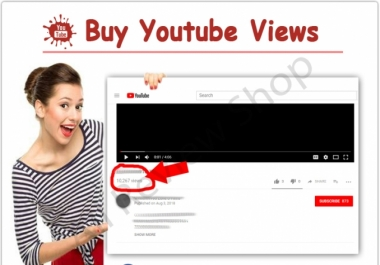 give 16,000+ High Quality Youtube Views Fast delivery