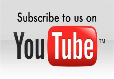 Give you 100+ Real Youtube Subscribers