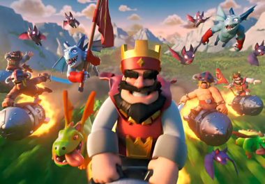 push your clash royale account for you