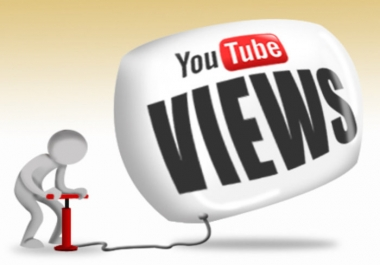 Give 1,000 Permanent Youtube Views Life time guarantee for
