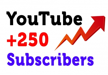 provide +150 Youtube Non Drop Subscribers