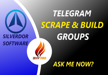 Scrape and Build Telegram groups with Silverdor software