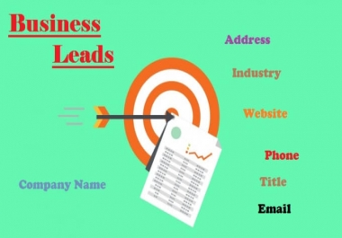 Generate B-to-B leads of targeted customers.
