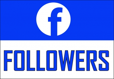 Add 1,000+ Facebook NON drop Followers