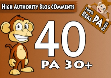 Do 40 Trust Flow Blog Comments Backlinks