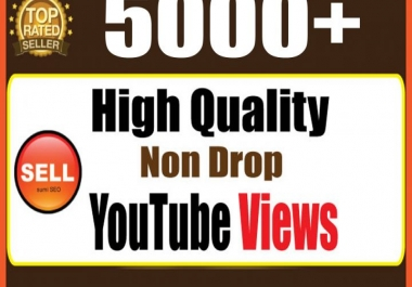 add 5000+ YouTube views