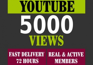 get Real HQ 5,000+ YouTube views