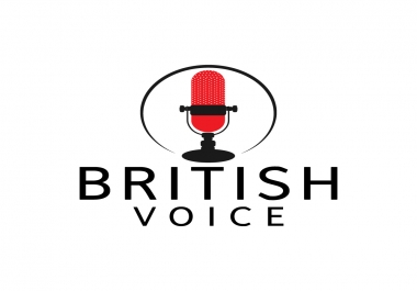Voice Your 500 Words In A Professional Male British Accent