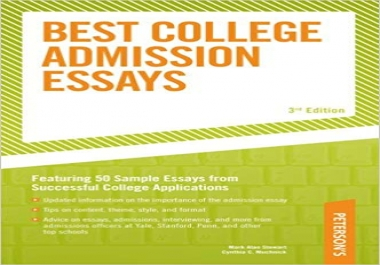 write/ edit your college application essay or personal statement