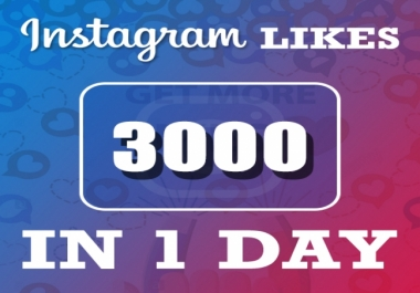Add Real 3,000 Instagram POST / PHOTO Likes