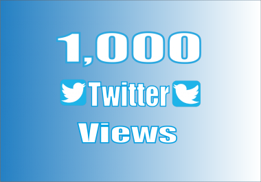 do promote your Twitter video views.