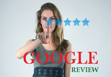 Give 5 Google Five Star Permanent Review foe your listing SEO
