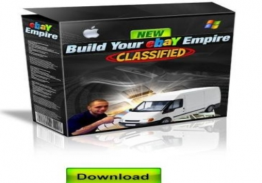 teach you how to set up and automate your own cash sucking E-bay business