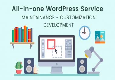 create a modern and SEO optimized wordpress website for you