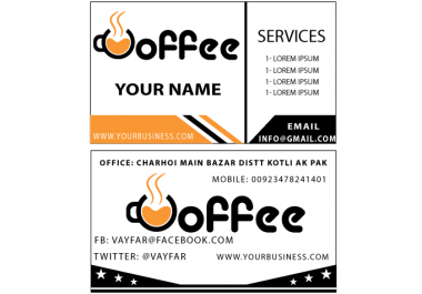 Design 3 Professional Super Business Cards