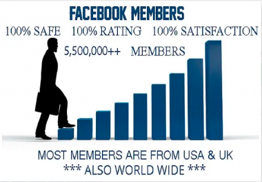 Promote Your Any Link Facebook 5,500,000++ group members