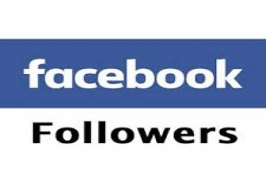 give you 500 real follower in your facebook account