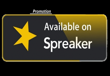 Give you 200 Real USA Spreaker likes or comments or followers Promotion Your Remix