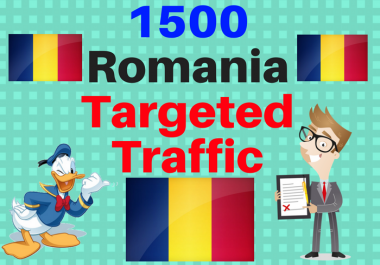 Provide 1,500 ROMANIA Web Traffic Visitors