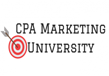Give You CPA Marketing University Full Course