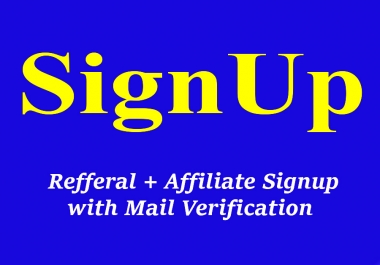 Give You 50 Signup USA Based or Worldwide