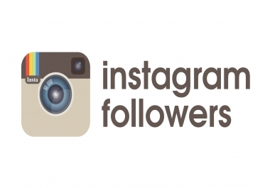 give you 7000+ Non Drop Guaranteed Instagram Followers