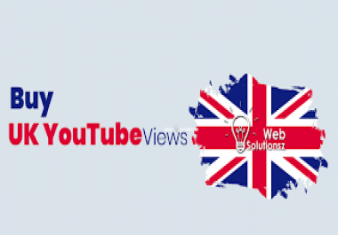 provide 6000 High Retention Uk Youtube Views