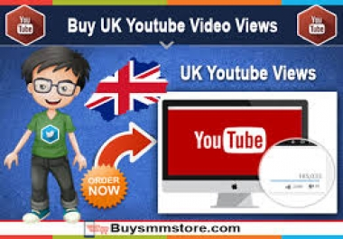 provide 12000 High Retention Uk Youtube Views