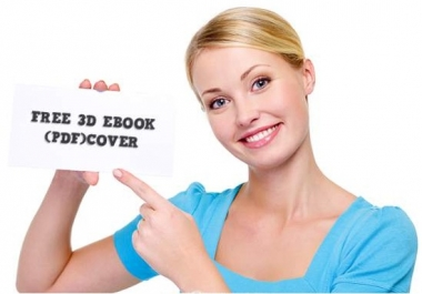 connvert your word document into PDF and make gorgeous 3D cover this ebook