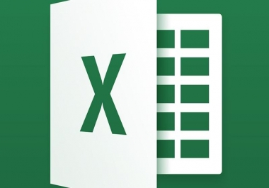 do data entry tasks,either on MS EXCEL or MS WORD with good precision