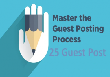 Write And Publish 5 Guest Post With High Da