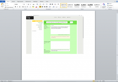do Excel data entry, Word page formatting & PowerPoint slides