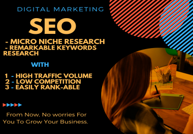 do the astonishing Niche and Keyword research