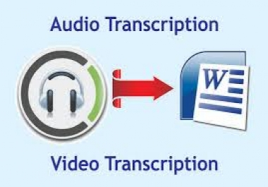 Deliver A Flawless Video Or Audio Transcripts In 24 Hours