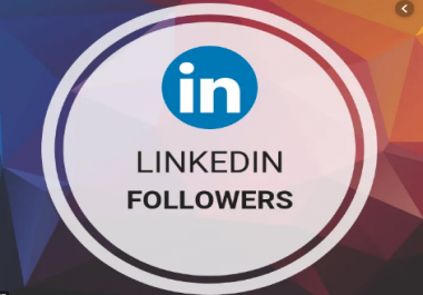 deliver 200 high quality LinkedIn followers