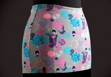 send you a beautiful 2in1 waist warmer with a floral print (size M)